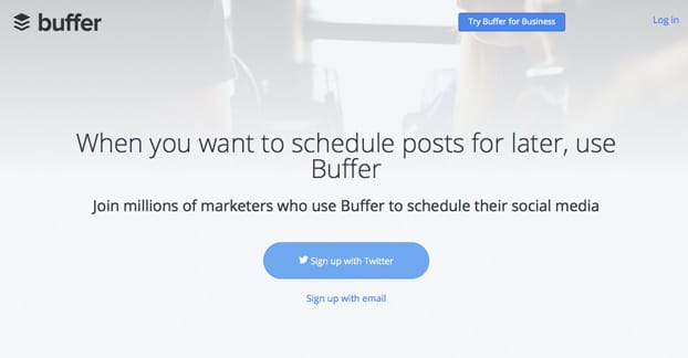 Buffer Website
