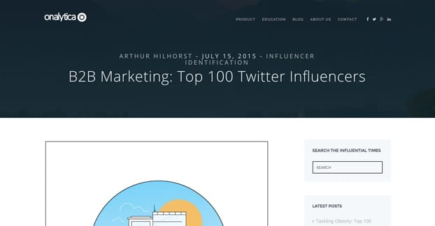 Top Influencers Research