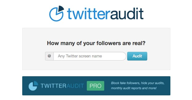 Twitter Audit Website
