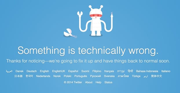 Twitter Error Following Too Many People