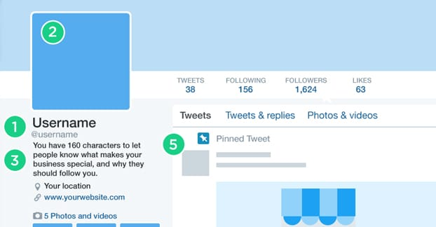 Complete Your Twitter Profile