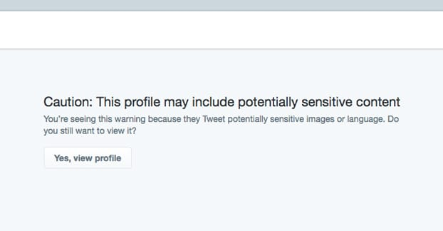 """How to Remove The """"Sensitive Content"""" Warning on Twitter"""