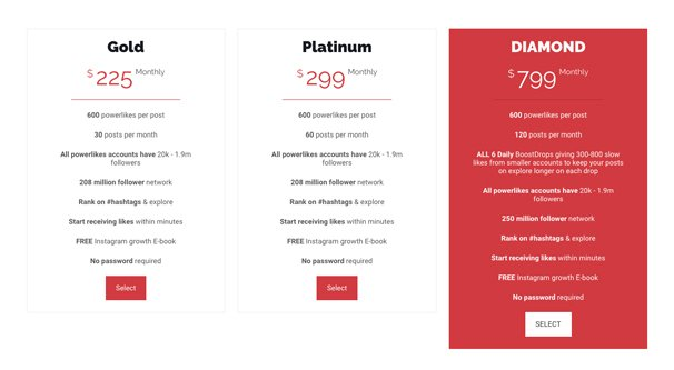 Boostupsocial Pricing