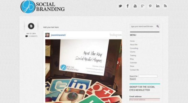 Embed IG Photo in Blog