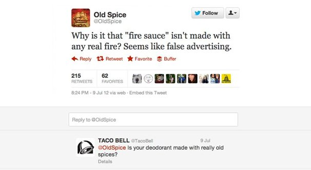 Example of a Funny Company Tweet